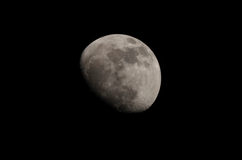 Our Moon from the Beaches   April 2, 2012<br /> Canon T1i on Orion ED80<br /> 1/500 sec, ISO 200<br /> John Merchant