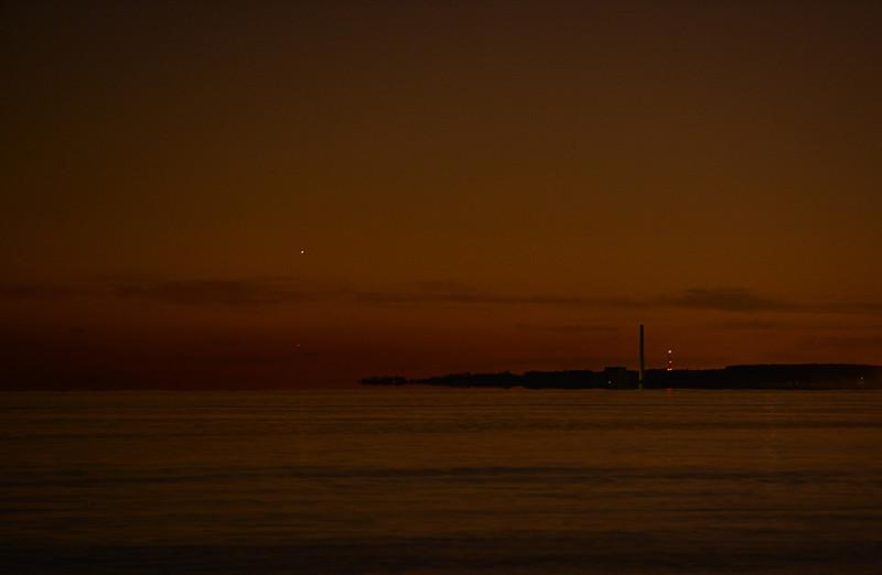 Mars and Mercury