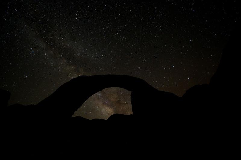 Milky Way Through Rainbow Bridge