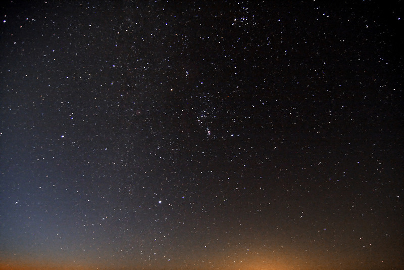 Zodiacal light beats out Rochester sky glow 60km to south. Hilborn shoreline, Grafton, Ontario<br /> 5:30 am, September 14,2010. Canon Xs 1600 ISO, f4 12mm for 40 seconds.