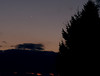 Venus and Mercury from the beach at Grafton.  Canon XS, 50mm @ f4.0, ISO 1600, 1/80 sec.<br /> Lynn Hilborn