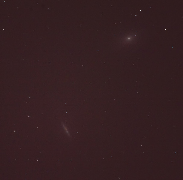 M81 and M82<br /> Nikon D3 10 sec exp, 12,800 ISO William Optic FLT 132 @ f/7