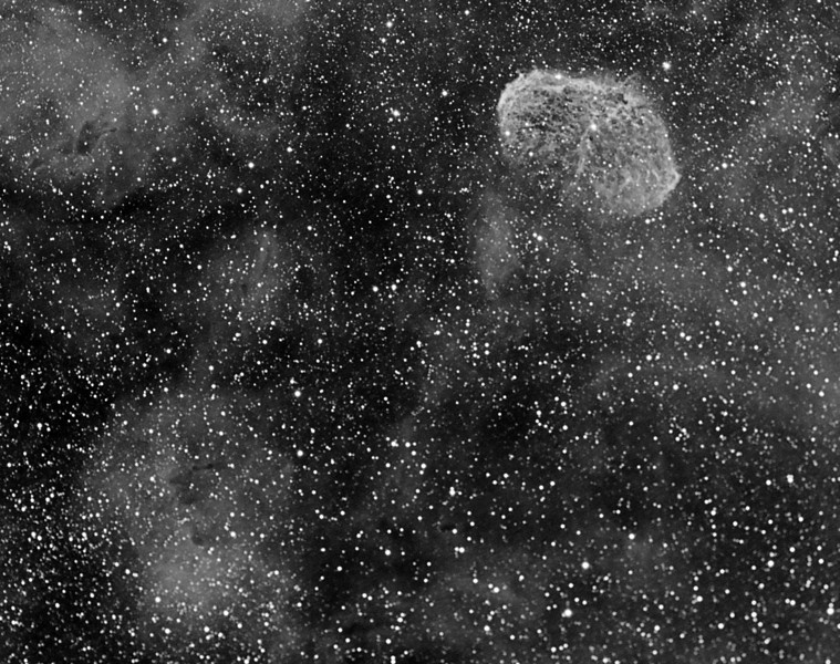"Check page 34 of July 2010 S&T...I had done the same field last year and here is the image....the Soap Bubble nebula DOES exist ( but boy is it faint ) ! Try ""Original"" size...<br /> Picture by Lynn Hilborn, NP101is and ML8300 camera"