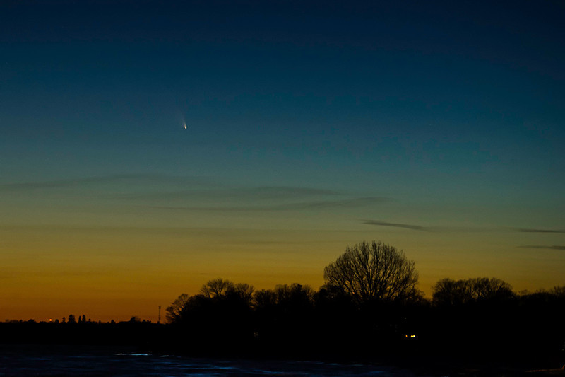 PanSTARRS by Malcolm Park