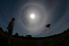 Solar Halo, by Malcolm Park<br /> Nikon D200, 10.5mm lens<br /> f/22 100 iso, 1/320th exp<br /> Oak Heights Ontario Sept 11,  2010
