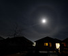 Moon, halo, Mars inside the halo...<br /> Malcolm Park