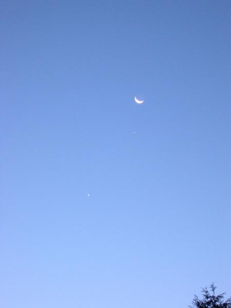 Moon and Jupiter<br /> John Merchant