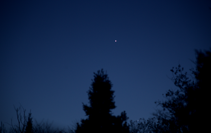 Venus and Mercury on the evening of May 20 2020