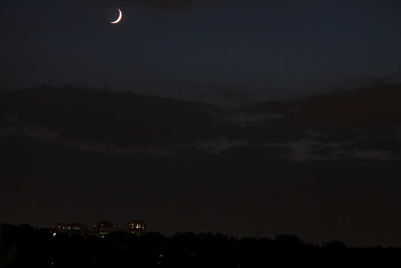 Moon over Humber River<br /> Canon T3, 0.5sec, f5, iso800,100mm<br /> By Alex Dolnycky