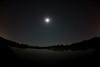 Moon and Jupiter over Lynde Shores