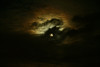 Full Moon of Dec. 1st with beautiful ring of clouds.<br /> John Merchant