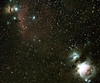 Wide angle Orion 20x2min on AstroTrac,350D modified,Canon 200mm f2.8<br /> Lynn Hilborn..Whistle Stop Observatory 44N78W