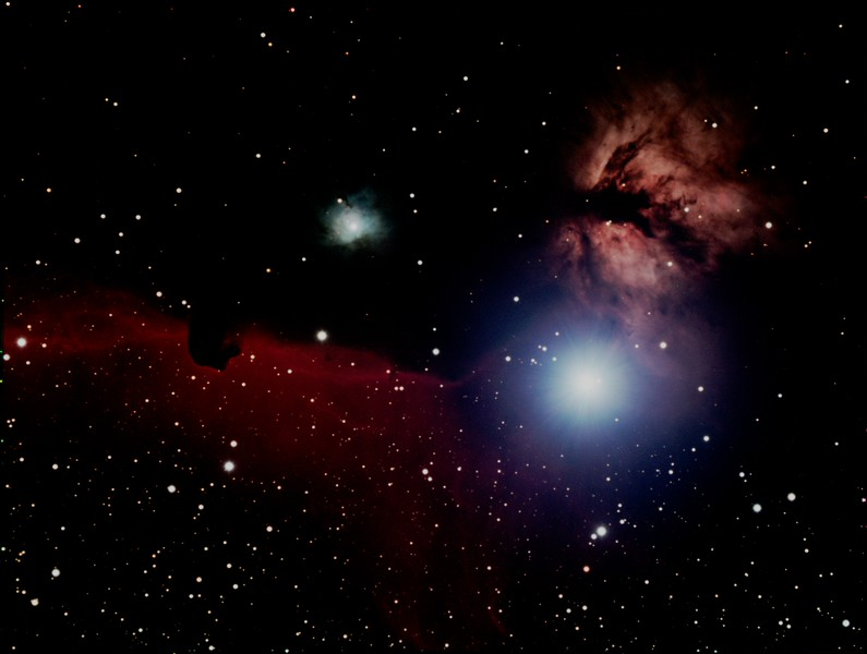 Horsehead Nebula and NGC2023