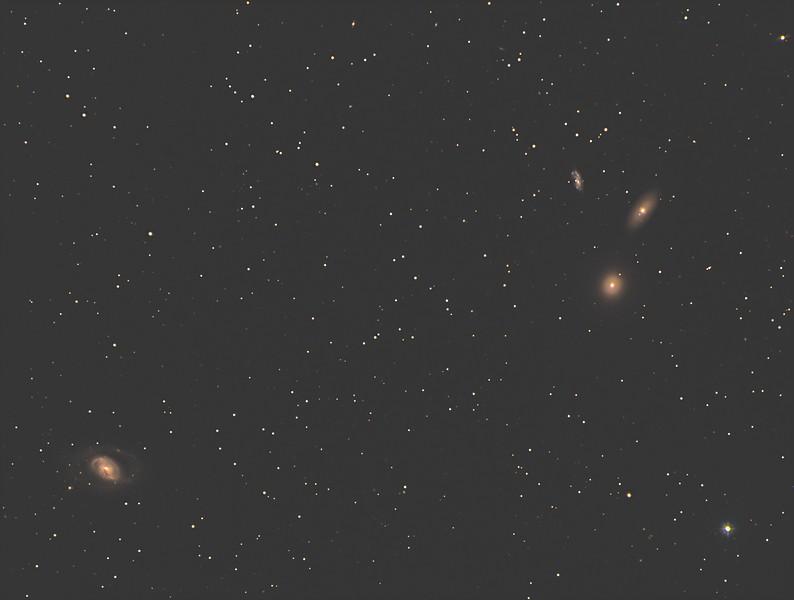 M96, M105, NGC3384, NGC 3389