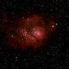 M8 Lagoon Nebula from the Dark Sky Weekend
