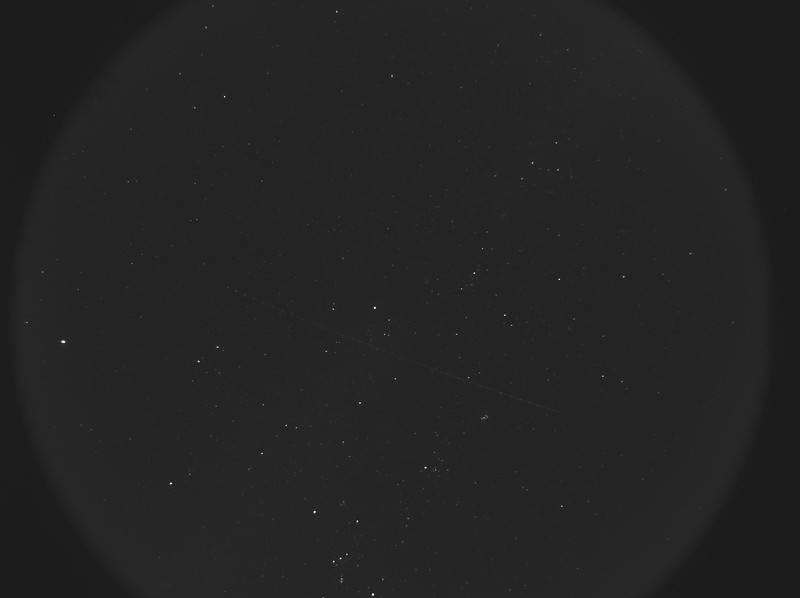 All Sky Camera Image Of Comet Lovejoy Jan 10 2015