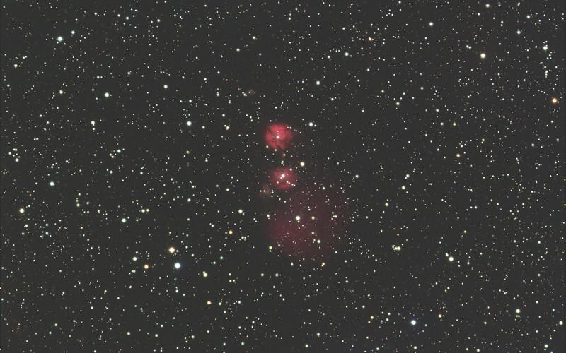 "IC 2162 (""Newton's Nebulae"")"