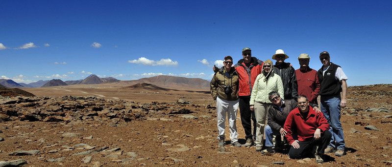 "Picture taken at 16,910 feet on the site of the Atacama Cosmology Telescope (ACT) <a href=""http://www.hep.upenn.edu/~angelica/act/act.html"">http://www.hep.upenn.edu/~angelica/act/act.html</a><br /> In the background, left side is the plateau where the Atacama Large Millimetre Array (ALMA) is under construction<br />  <a href=""http://www.eso.org/sci/facilities/alma/"">http://www.eso.org/sci/facilities/alma/</a>"