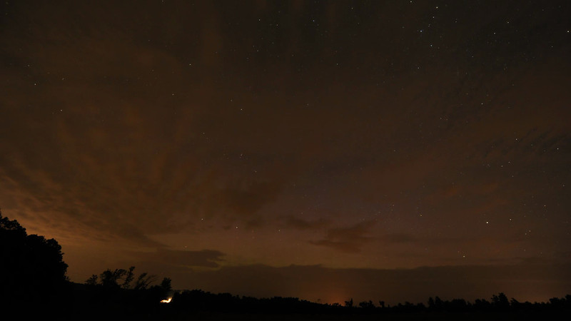 Nikon D3s <br /> 1600 iso, 20sec exp, 2 sec intervals, 14mm f2.8<br /> about 1,000 frames in this 44 second video<br /> Images by Malcolm Park