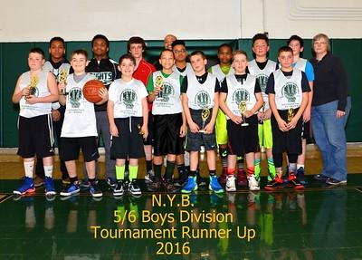 N.Y.B. Championship Game 5/6 Boys Division 3-6-2016