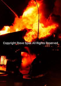 Lumber Yard Fire
