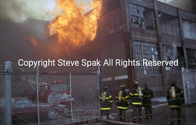 Five Alarm Warehouse Blaze