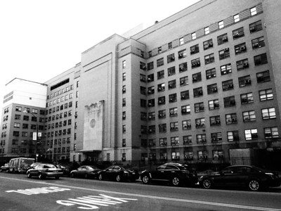 450 Clarkson Avenue BROOKLYN, NY  ----------------------------------------------------- Downstate Medical Center PHAB | Site-prep | Whole site - shot from the Northwest.