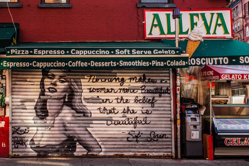 sofia loren / little italy