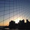 Sunset Silhouette - Brooklyn Bridge and Lower Manhattan