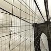 Brooklyn Bridge Warmth - BW