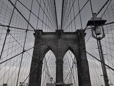 Brooklyn Bridge - BW