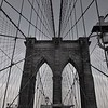 Brooklyn Bridge - BW