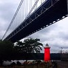 Run to George Washington Bridge - Red Lighthouse