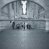 Grand Central Long View - BW