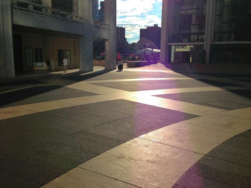 Sharp Angles in Josie Robertson Plaza