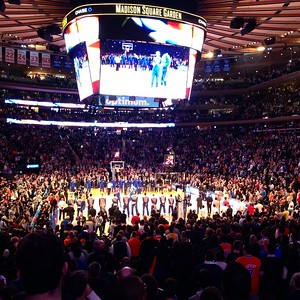 Knicks game - Tip Off is Imminent