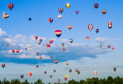 NJ festavil of Ballooning