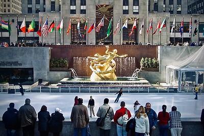 Ice Skating at Rockefeller Center