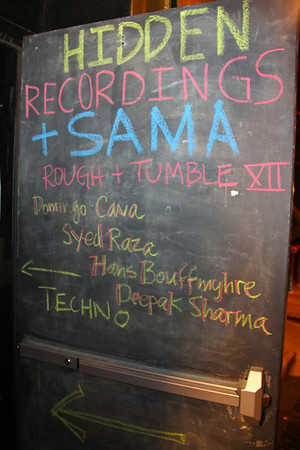 Rough + Tumble XII, 5-19-12