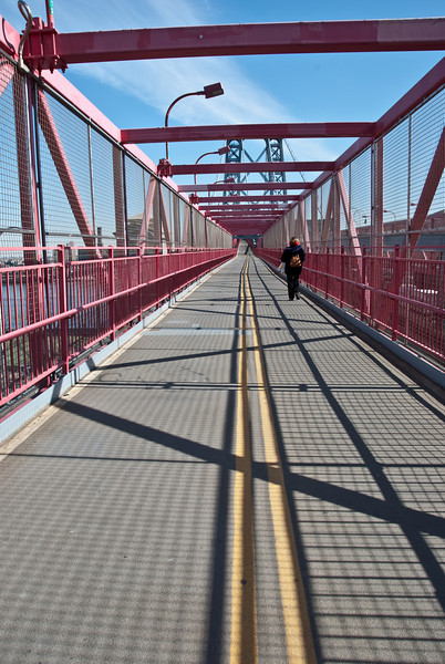 Marie on the bridge <br /> 1037