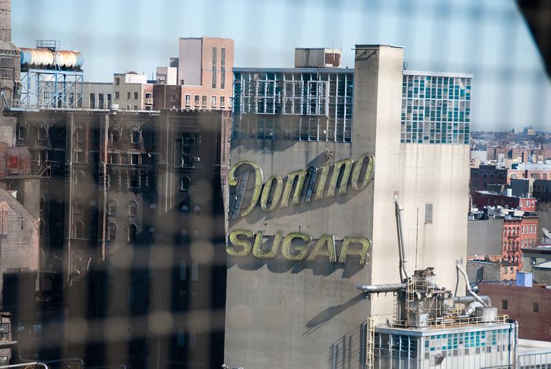 Domino sugar building from Bridge1045