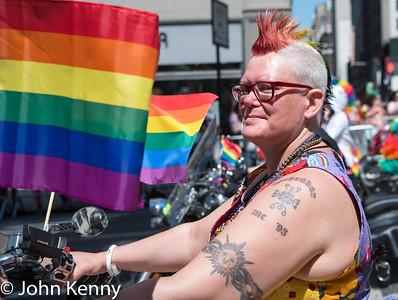 NYC Pride March 6/25/17