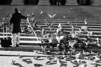 Lunch is Served _ bw