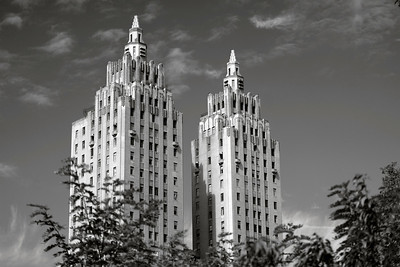 San Remo Apartment Towers _ bw