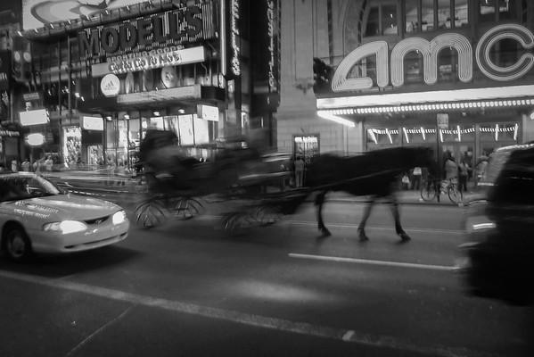 Night Carraige, 42nd Street