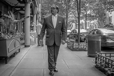 Man in Suit, West 43rd Street