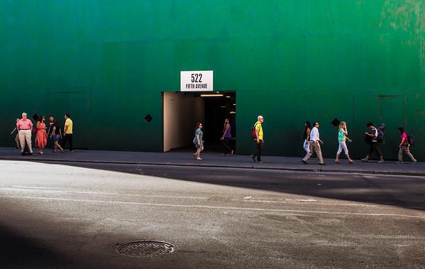 Landscape, Fifth Avenue