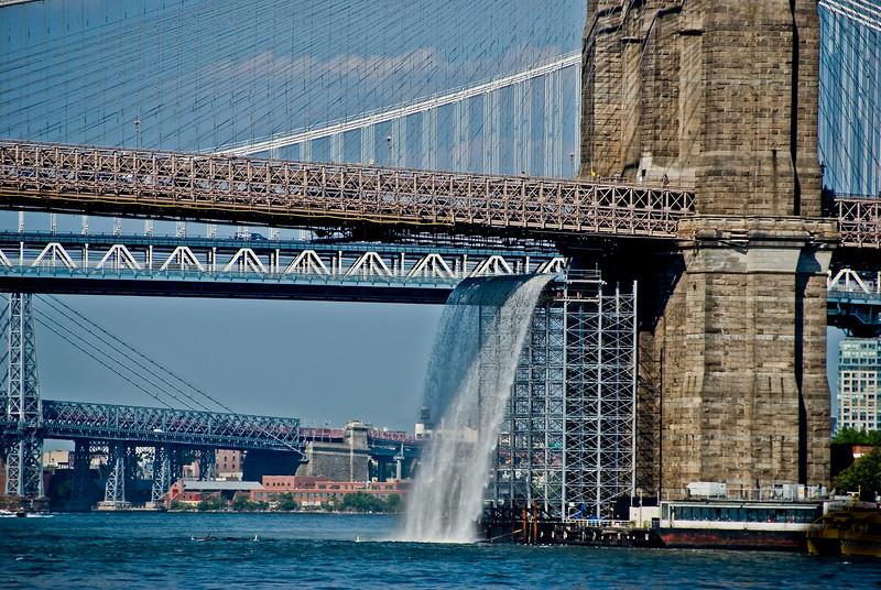 Brooklyn Bridge, Water Works