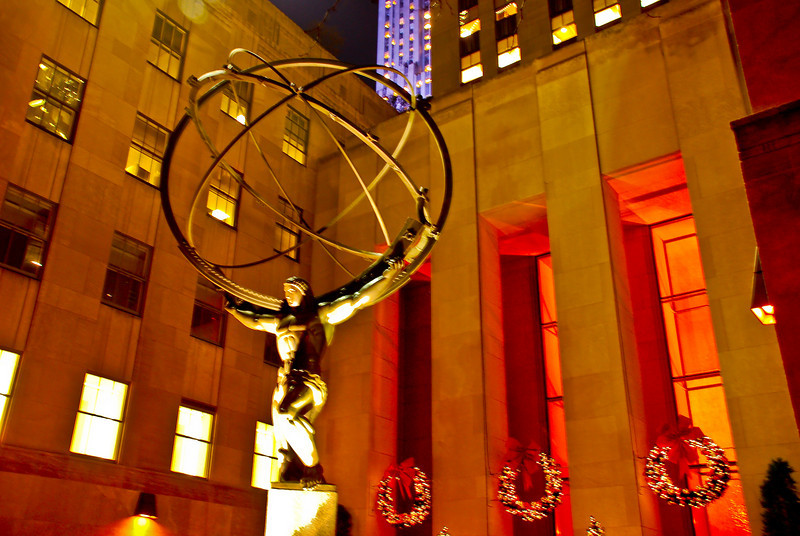 Atlas, Rockefeller Center, New York City