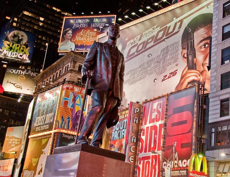 Geoge M Cohen on Broadway